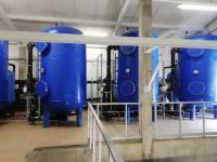 Naujosios Akmenės miesto vandens gerinimo įrenginių statybos darbai