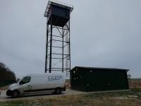 Vandens gerinimo įrenginių statyba Žagarės mieste